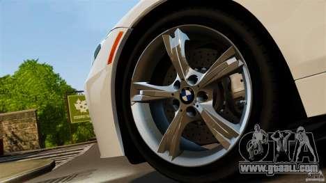 BMW Z4 sDrive 28is 2012 v2.0 for GTA 4 back left view