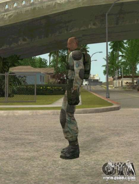 Lebedev of S.T.A.L.K.E.R. clear sky for GTA San Andreas second screenshot