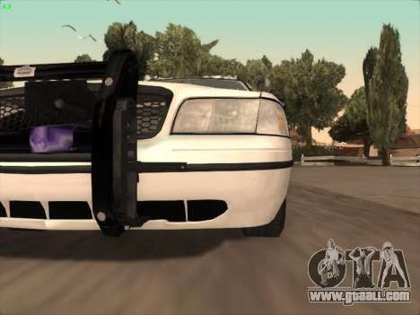 Ford Crown Victoria Vancouver Police for GTA San Andreas bottom view