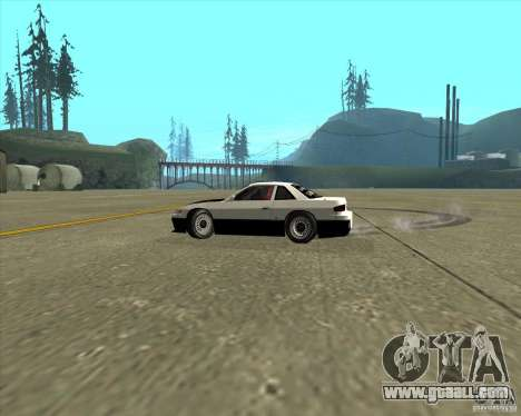 Nissan Silvia S13 streets phenomenon for GTA San Andreas inner view