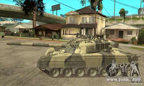T-80U MBT for GTA San Andreas left view