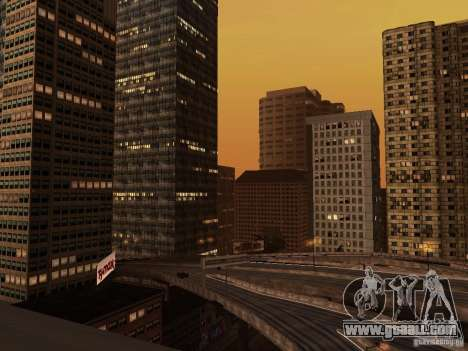 New Downtown skyscrapers texture for GTA San Andreas third screenshot