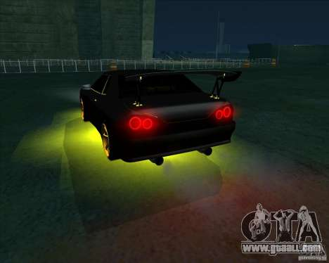 NEON mod for GTA San Andreas sixth screenshot