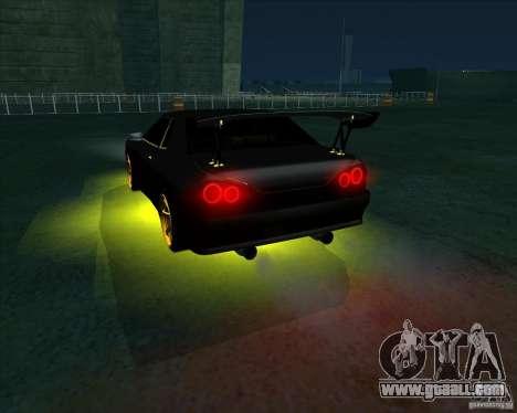 NEON mod for GTA San Andreas sixth screenshot
