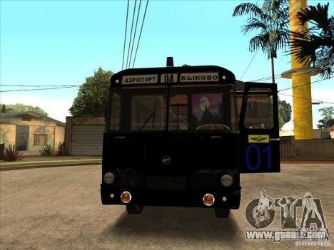 LIAZ 677p for GTA San Andreas left view