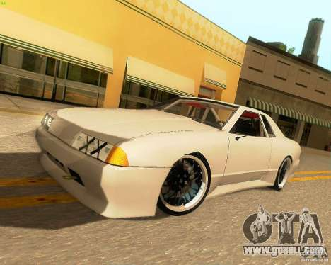 Elegy Drift Korch for GTA San Andreas back left view