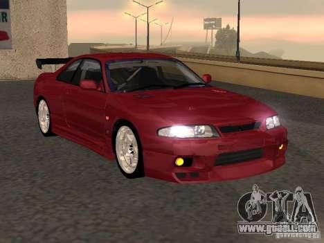 Nissan Skyline GT-R BCNR 33 for GTA San Andreas back left view