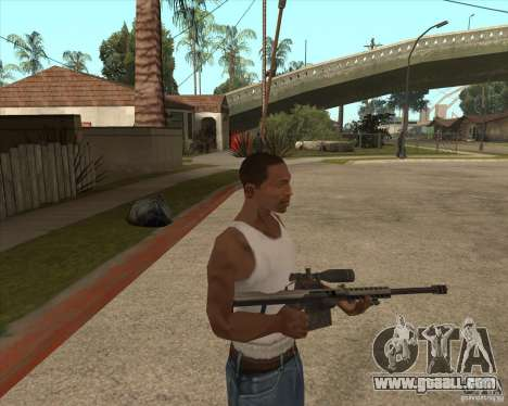 New sniper for GTA San Andreas