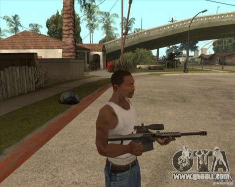 New sniper for GTA San Andreas
