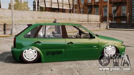 Volkswagen Gol G4 Edit for GTA 4 left view