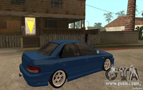 Subaru Impreza GC8 JDM SPEC for GTA San Andreas right view