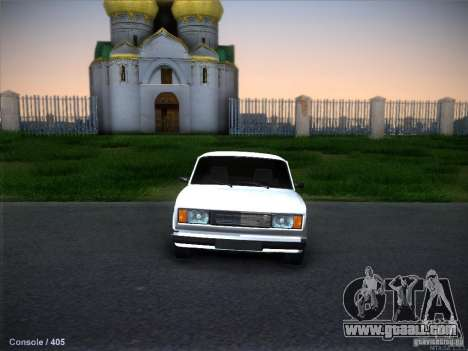 Vaz 2105 stock Quality for GTA San Andreas