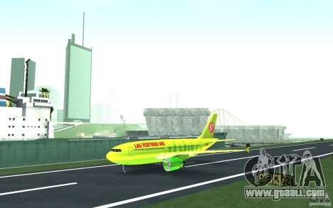 Airbus A310 S7 Airlines for GTA San Andreas