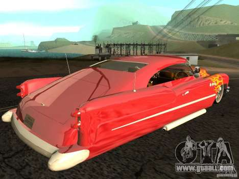 Buick Custom 1950 LowRider 1.0 for GTA San Andreas left view