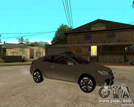 KIA Forte Coup for GTA San Andreas right view
