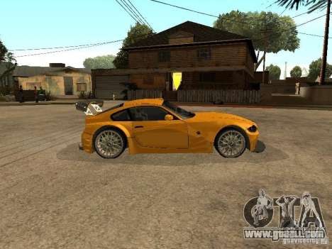 BMW Z4 Style Tuning for GTA San Andreas left view