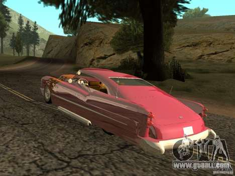 Buick Custom 1950 LowRider 1.0 for GTA San Andreas right view