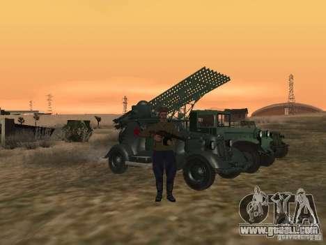 Soviet officer BOB for GTA San Andreas forth screenshot