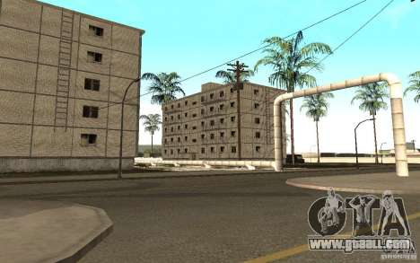 A small Russian town on Grove Street for GTA San Andreas fifth screenshot