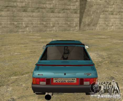 VAZ 21099 sparco tune for GTA San Andreas right view