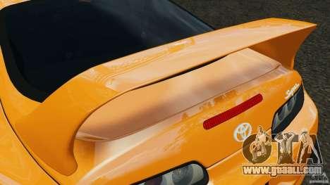Toyota Supra Tuning for GTA 4 engine