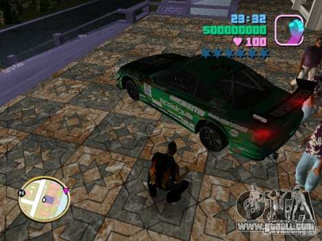 Nissan Silvia S15 Kei Office D1GP for GTA Vice City side view