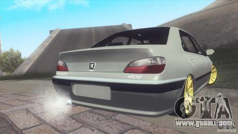 Peugeot 406 Rat Style for GTA San Andreas left view