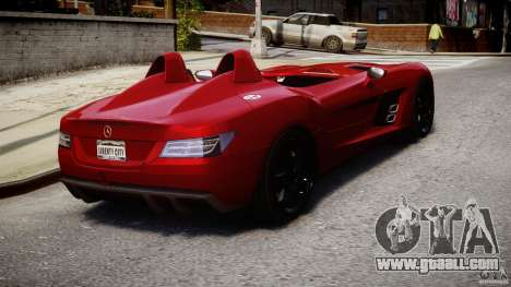 Mercedes-Benz SLR McLaren Stirling Moss [EPM] for GTA 4 side view