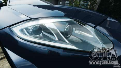 Jaguar XKR-S Trinity Edition 2012 v1.1 for GTA 4 wheels