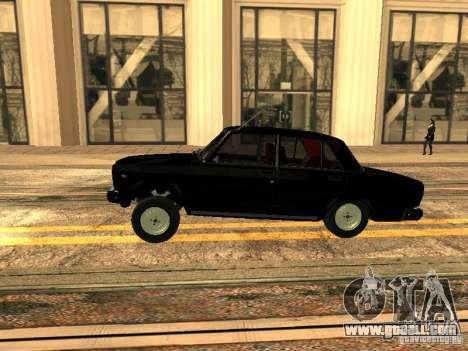 VAZ 2107 ZZ Style for GTA San Andreas left view