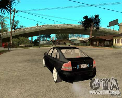 Volvo s40 t5 2008 for GTA San Andreas left view
