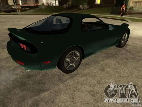 Mazda RX-7 1991-1999 for GTA San Andreas back left view