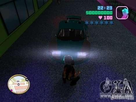 Bugatti Veyron for GTA Vice City right view