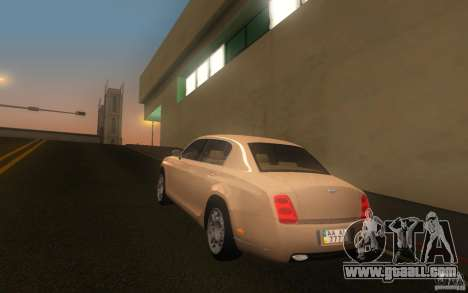 Bentley Continental Flying Spur for GTA San Andreas left view