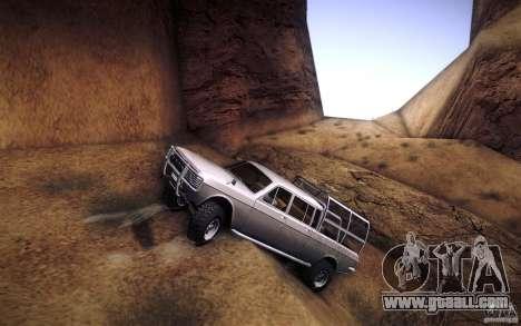 GAZ 2402 4 x 4 PickUp for GTA San Andreas engine