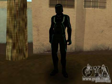 A character from the game Tron: Evolution for GTA San Andreas sixth screenshot