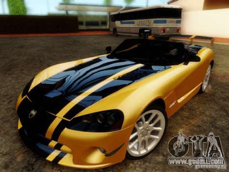 Dodge Viper SRT-10 Roadster ACR 2004 for GTA San Andreas