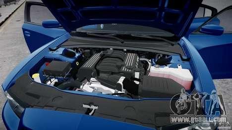 Dodge Charger SRT8 2012 for GTA 4 inner view