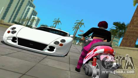 Suzuki Address 110 Custom Ver.1.3 for GTA Vice City back left view