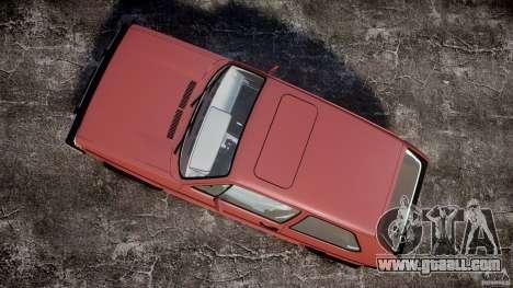 Volkswagen Rabbit 1986 for GTA 4 right view