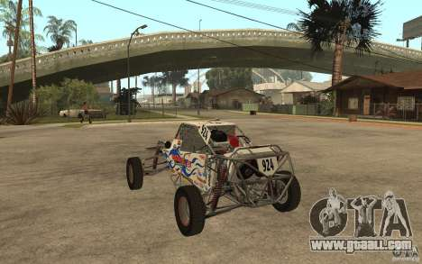 CORR Super Buggy 2 (Hawley) for GTA San Andreas back left view