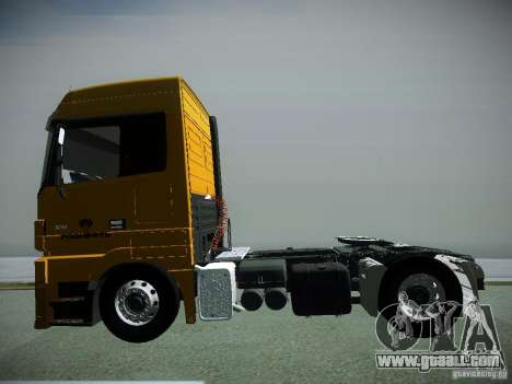 Mercedes-Benz Actros Rosneft for GTA San Andreas right view