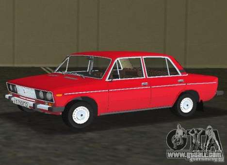 VAZ 2106 for GTA Vice City back left view