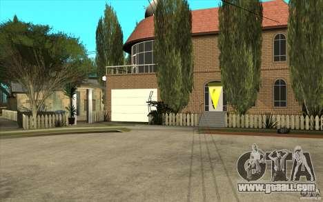 New Grove Street TADO edition for GTA San Andreas third screenshot