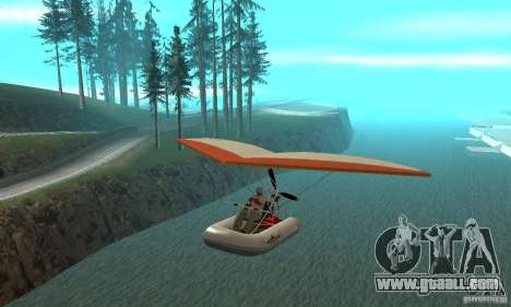 Wingy Dinghy (Crazy Flying Boat) for GTA San Andreas