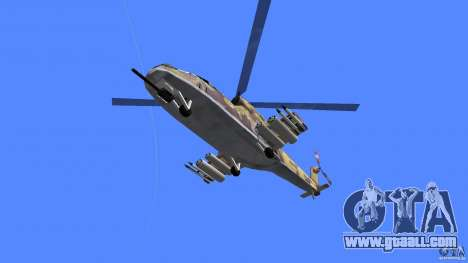 Mi-24 HindB for GTA Vice City right view