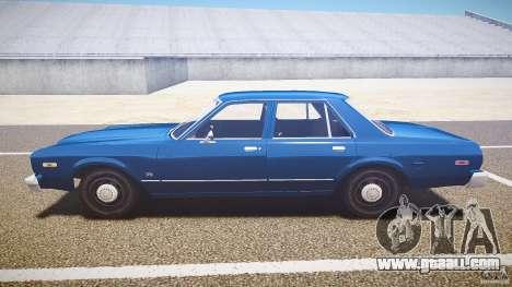 Dodge Aspen v1.1 1979 for GTA 4 left view