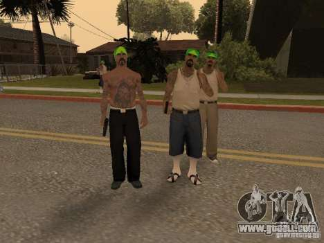 Vagosy-Grove for GTA San Andreas second screenshot