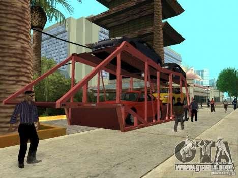 American Trailers Pack for GTA San Andreas