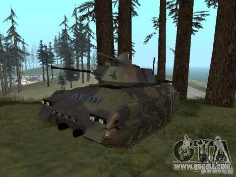 M2A3 Bradley for GTA San Andreas